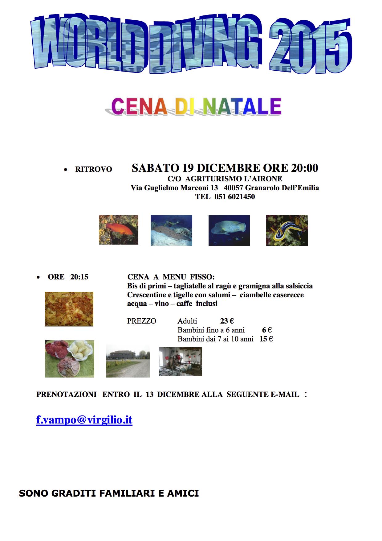 CENA NATALE 2015